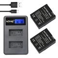 Aopuly 2 pcs adhbt-301 bateria ahdbt-302 + lcd usb dual carregador para gopro hero3/hero3 + câmera gopro3 bateria ahdbt 301 ahdbt 302