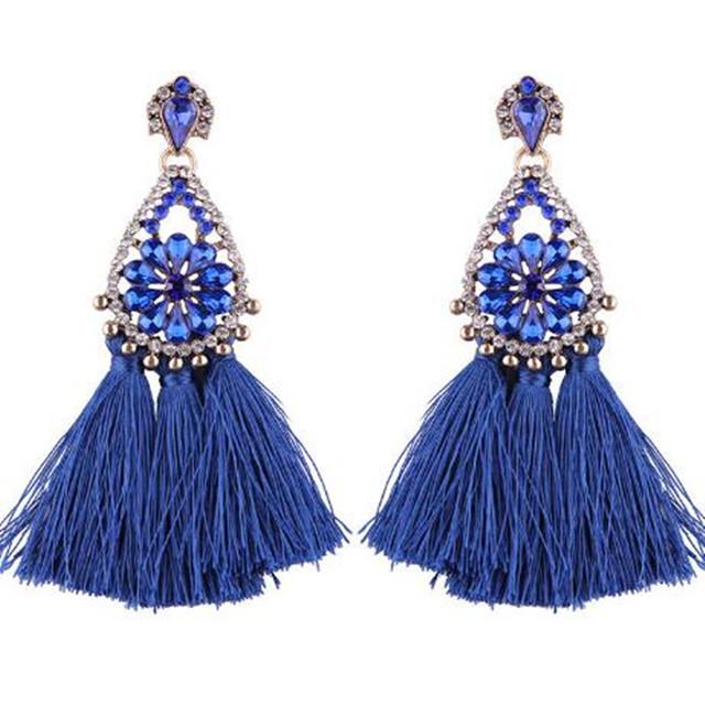 Ethnic Women Jewellery Tassel Earrings