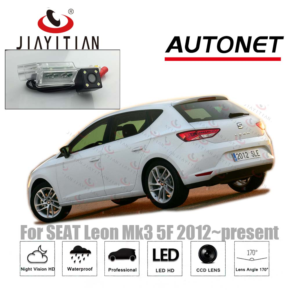 JIAYITIAN Rear View Camera For SEAT LEON MK3 Hatch Coupe 2012~2017 2013 2015/CCD Night Vision/Backup Camera/License Plate Camera