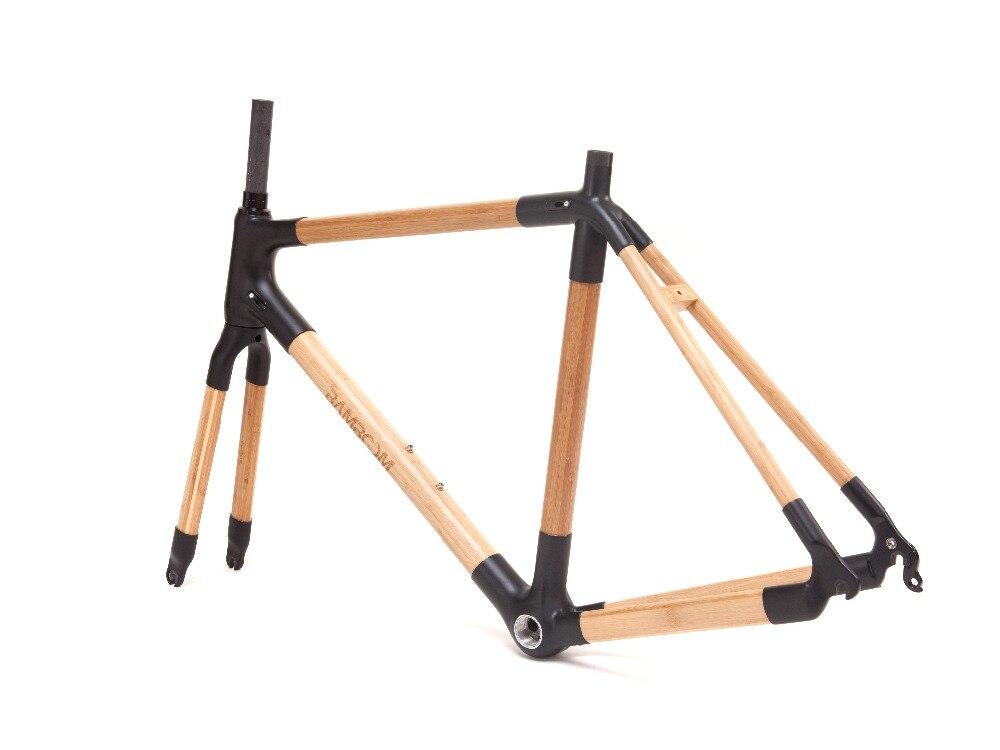 Vélo de route carbone cadre/fourche avant Bambou cadre/fourche avant Cadre/fourche avant accessoires