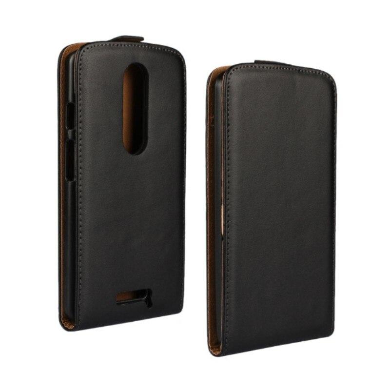 Черный Высокое Качество Натуральная Кожа Флип Чехол Для Motorola Moto X Force/<font><b>Droid</b></font> <font><b>Turbo</b></font> <font><b>2</b></font> Телефон Крышка с Магнитным замком