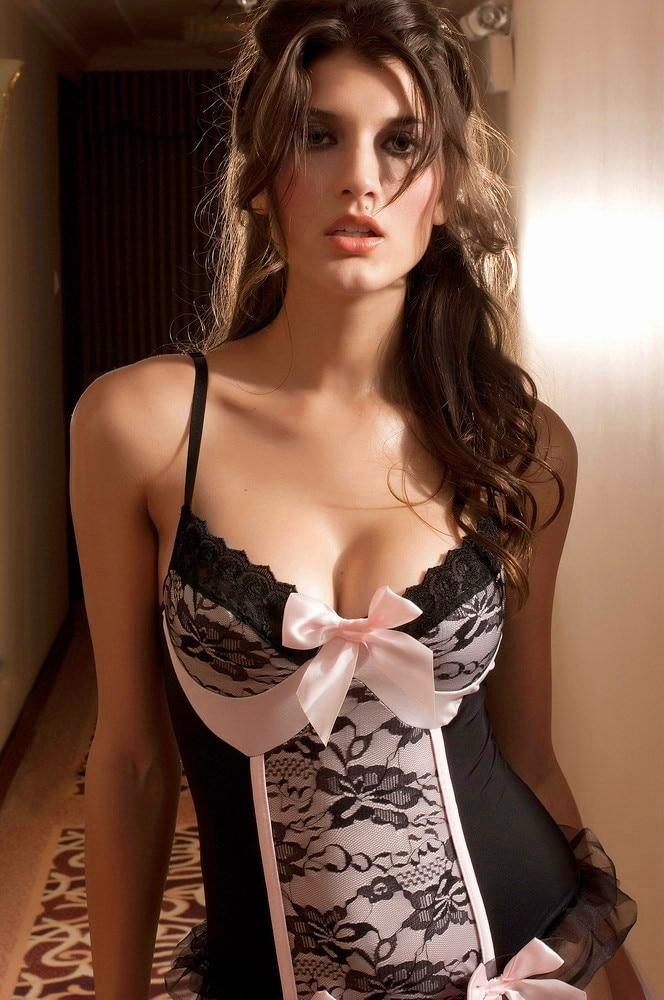 Sexy lingerie strip