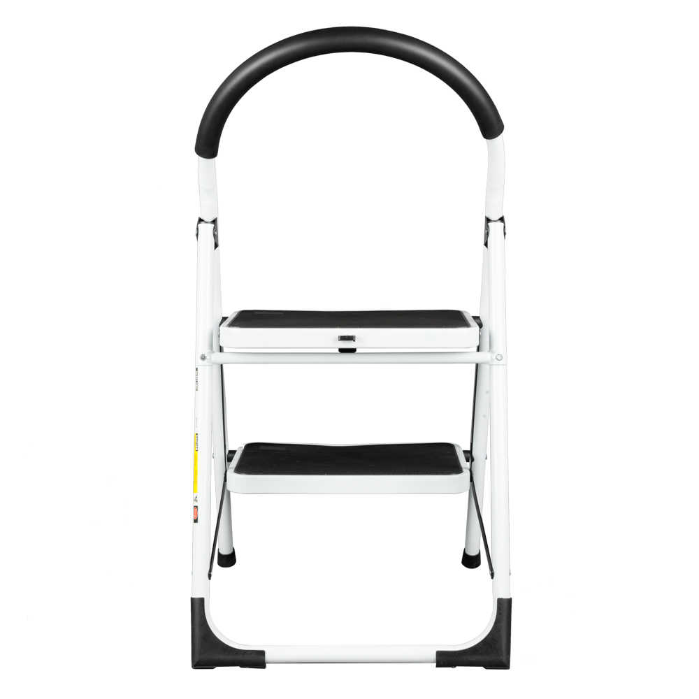 Remarkable Household Industrial Lightweight Folding 2 Step Stool Mini Stepladders With Handle Multipurpose Non Slip Iron Ladder For Home Lamtechconsult Wood Chair Design Ideas Lamtechconsultcom