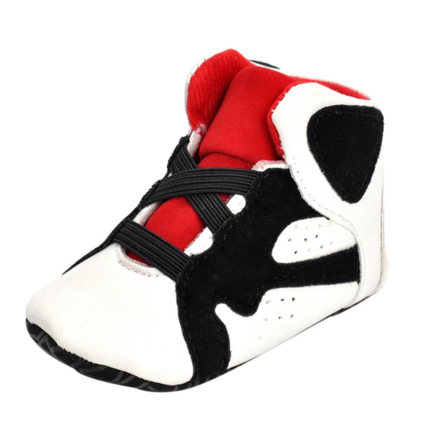 baby shoes first walkers kids shoes Newborn Infant Kid Girls Boys Crib Shoes Soft Sole Anti-slip Baby Sneakers Shoes uk m8