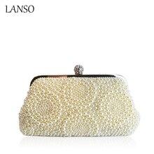 Mode Perlen Peal frauen Kupplung für hochzeit braut abendgesellschaft Shell Shaped kleid handtasche taschen Luxury Brand Design Tasche Obag