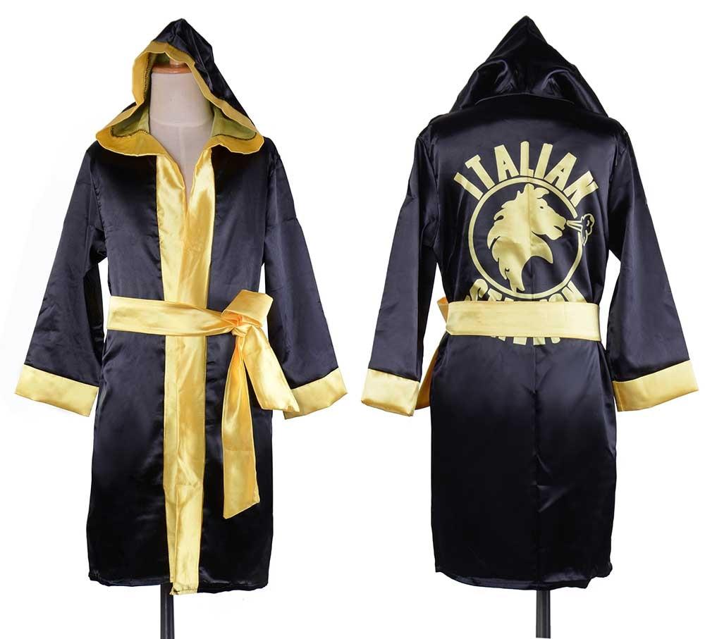 D1 D2 D3  sc 1 st  ticalm & Rocky Italian Stallion Movie Boxing Robe Costume Kids Apollo Rocky ...
