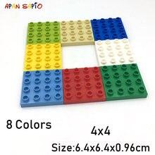 Конструктор «сделай сам» большой размер 4x4 3 шт/лот 8 цветов