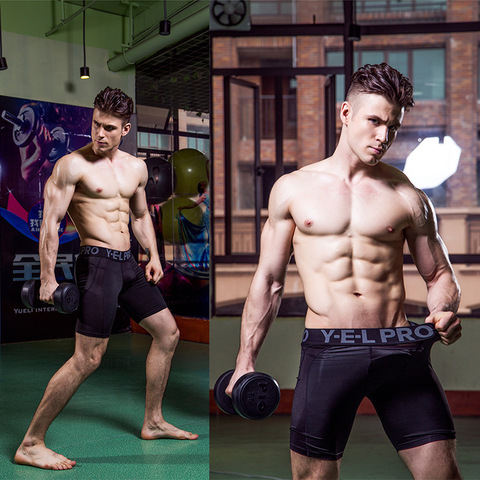 Men Compression Shorts Base Layer Thermal Skin Bermuda Shorts Gyms Fitness Men Cossfit Bodybuilding  Tight Shorts Lahore