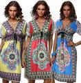 2017 мода пляж dress women dress V воротник летом dress женщины