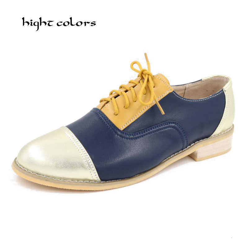 100% Genuine Leather Martin Ankle S New Fashion Lace Up Casual Shoes Hight Colors Brand Design Flats For Women K1010