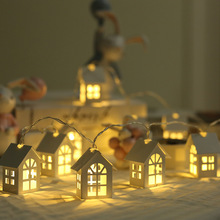 Twinkle USB 1.5M 10LED House Shaped String Fairy Light Christmas Decoration for Home for Wedding Party New Year Lights Garland