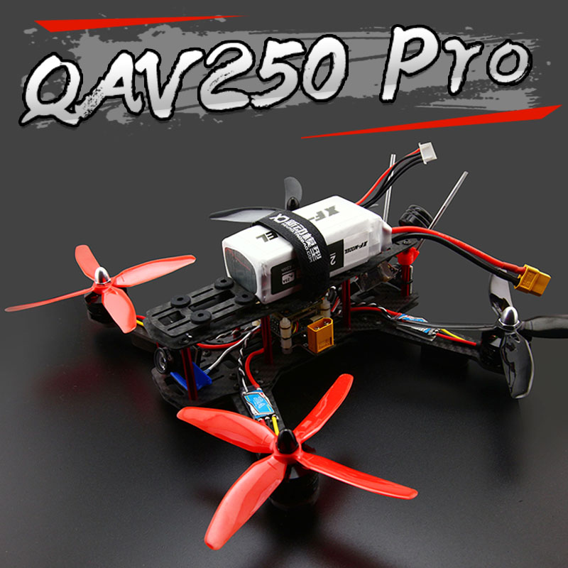 RC FPV Racing Drone QAV250 250mm Carbon Fiber Quadcopter Frame 2204 2300kv...