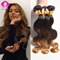 true glory hair ombre brazilian body wave cheap brazilian hair 4 bundles body wave 8a wet and wavy virgin brazilian hair