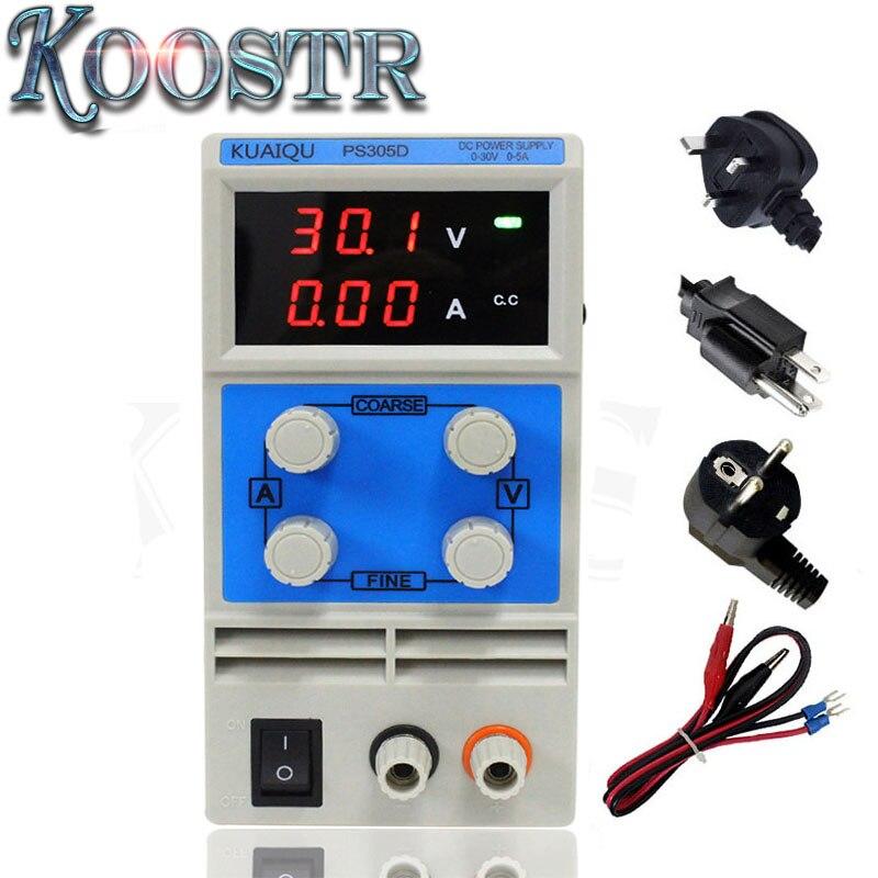 DC power supply PS305D 30V 5A Single phase adjustable Digital voltage regulator 0 1V 0 01A