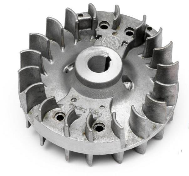 For 1/5 Gas Car Engine Parts HPI #15430 23cc 26cc 29cc 27cc Motor Engine Fly Wheel Heat Dissipation Fan Blade
