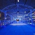 1.5 м Шнура Сид Чистый Свет Бабочки Декоративные Лампы для Партии Рождественских Деревьев Сада Главная ЕС 220 В