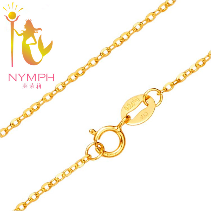 [НИМПХ] Оригинална 18К бела жута ружа - Фино накит - Фотографија 4