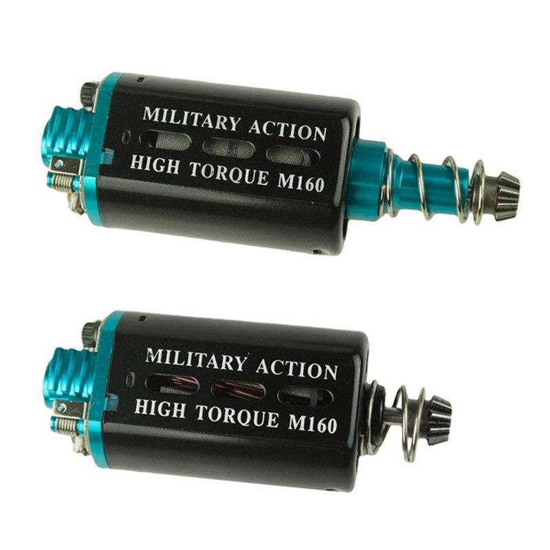 Heat dissipation Type M160 High Torque AEG Motor Long/Short Axis for Airsoft AK M16/M4/MP5/G3/P90 AEG Airsoft Gun Accessories