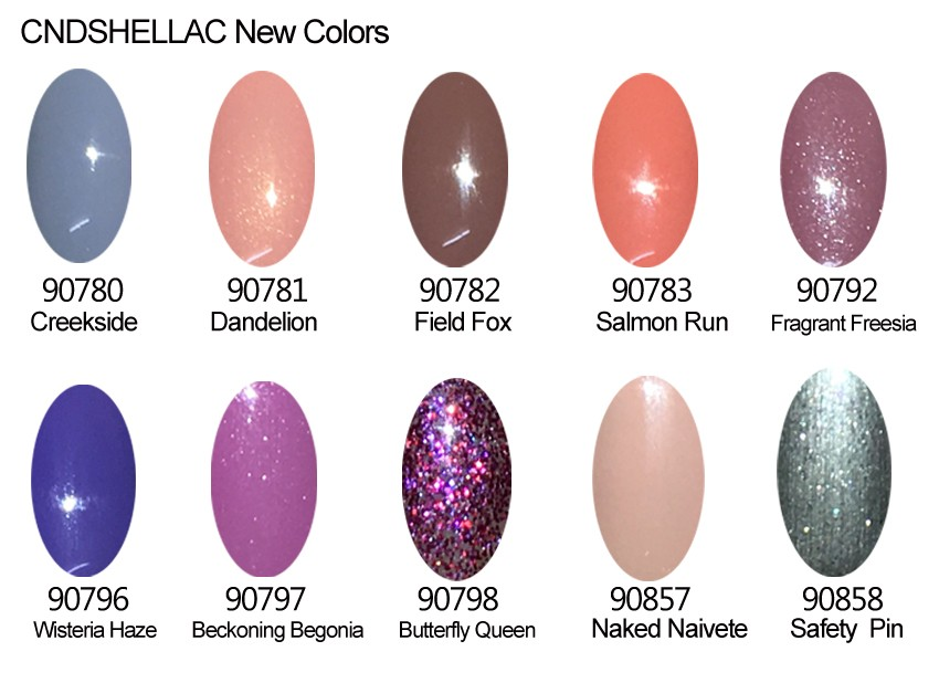 new cnd colors