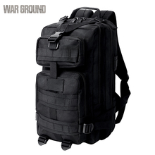 25L 3P tactical attack backpack army fan outdoor fishing hunting bag men and women camping waterproof travel sports