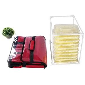 Image 2 - 45L 大熱食品クーラーバッグ断熱大容量多機能ランチボックスボルサ termica クーラーバッグ picknick クール