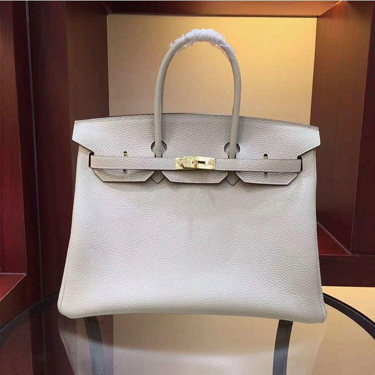 BIG 35cm NEW 2017 HOT 100% REAL genuine leather totes luxury handbags women bags designer women Messenger Bags big black colors