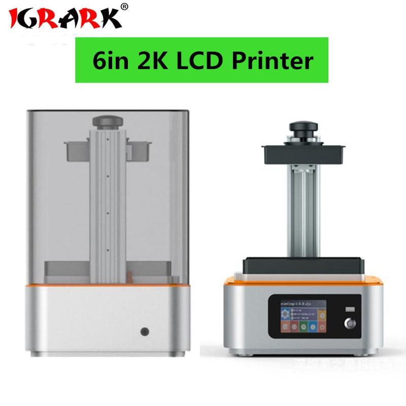 IGRARK New 72W UV LCD Wax/casting/UV Resin Mini 3d Printer