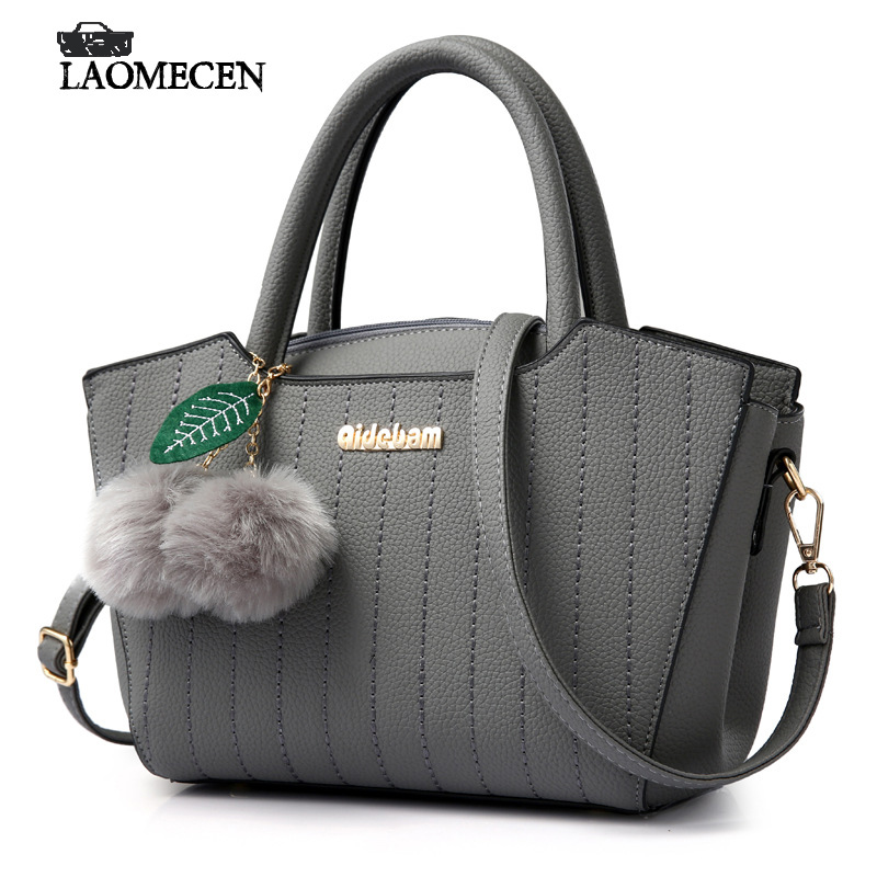 Vintage Soft Leather Women Handbags Woman Tote With Rivet Famous Brands Luxury French Handbag Tassel