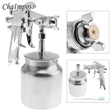 Handle F-75 Pneumatic Paint Spray Gun Painting Paint Tool with 1 5mm Diameter Nozzle for Furniture Woodworking Machinery cheap ChgImposs 1 Year Guangdong China (Mainland) Aluminum Alloy
