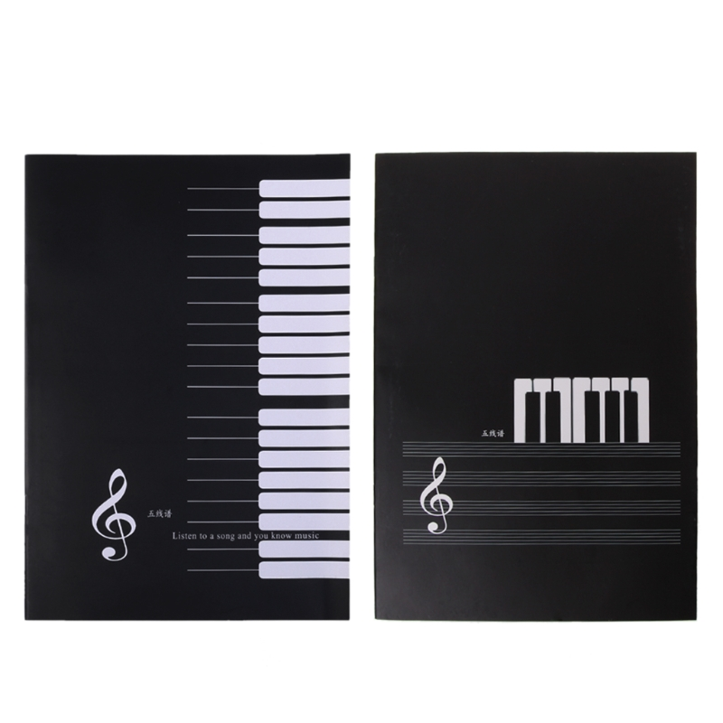 18 Sheets Music Practice Notebook Piano Violin Book Universal Five-line Spectrum