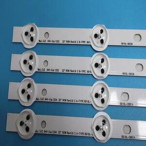 """Image 2 - Tira de LED para iluminación trasera 9LED para TV LG, 32 """"Rev0.9 tipo A/B, 6916L 1030A 6916L 1031A 6916L 0923A 6916L 0881A LC320DXN SE R1 LED32A"""