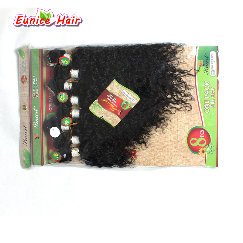 8 PCS for full head brazilian virgin deep wave hair human kinky curly bundles loose wave hair blonde natural weave weft hairpie