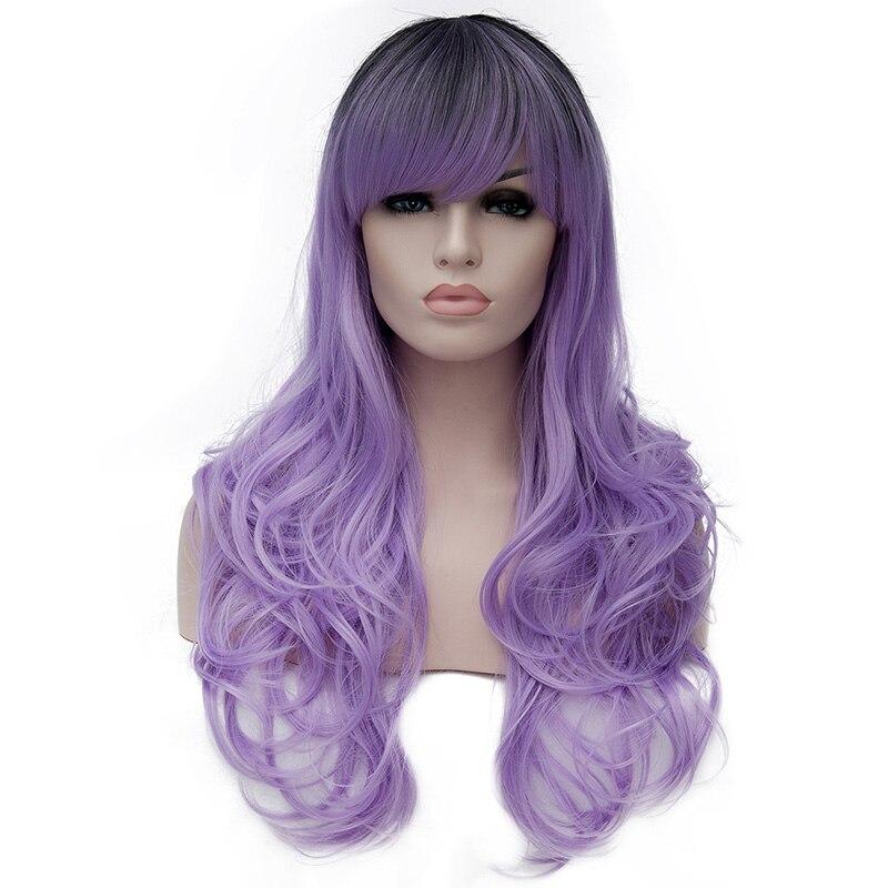 Blonde Curly Halloween Wigs 103
