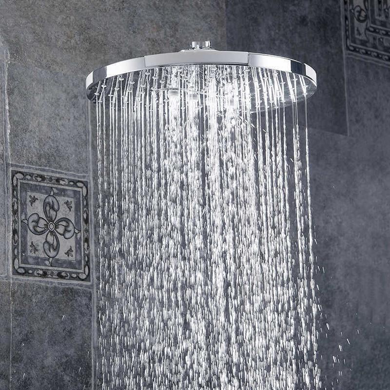 Bathroom Rainfall High Pressure Rain Top Spray ABS Square Rain Top Spray Show