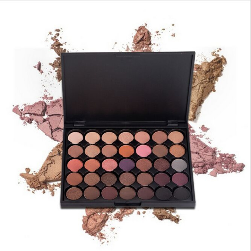 35 Color Eyeshadow Palette Silky Powder Professional Make ups
