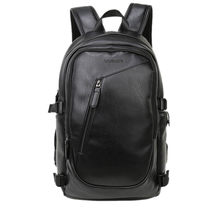 2019 Brand Waterproof 15.6 Inch Laptop Backpack Men Leather Backpacks for Teenager  Men Casual Daypack Mochila e1779dbb79e5a