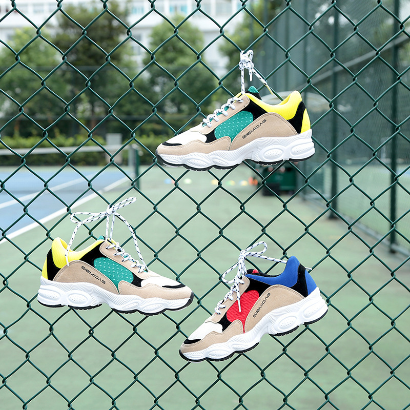 Sneakers Woman 2018 New Pattern Korean Ulzzang Original Old Student Casual Ins Exceed Fire Real Shoes Dad Shoe sneakers woman 2018 spring and autumn season new pattern korean plate thick bottom chalaza casual old women s shoes