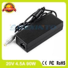 20V 4.5A 90W адаптер переменного тока 92P1155 92P1156 42T4425 42T4427 зарядное устройство для ноутбука Lenovo ThinkPad Edge E425 E430 E430c E435 E445 E50