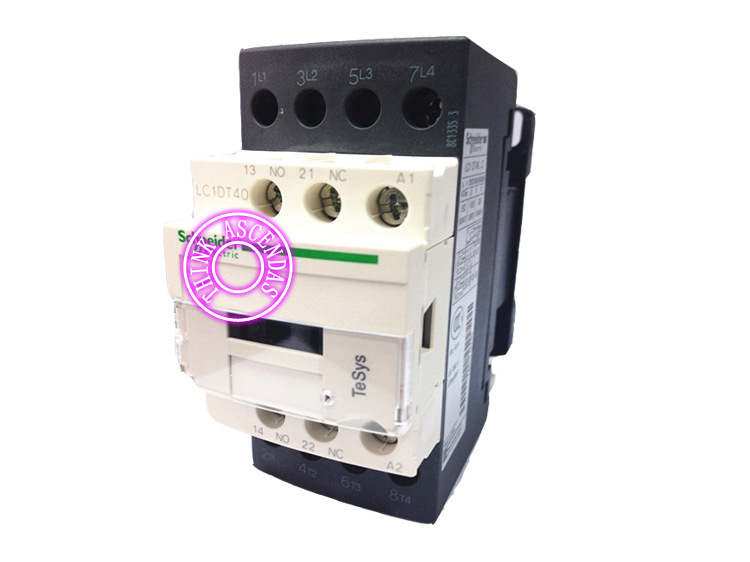 LC1D Series Contactor LC1DT40 LC1DT40QD 174V DC / LC1DT40ZD 20V DC / LC1DT40QDC 174V DC / LC1DT40ZDC 20V DC sayoon dc 12v contactor czwt150a contactor with switching phase small volume large load capacity long service life