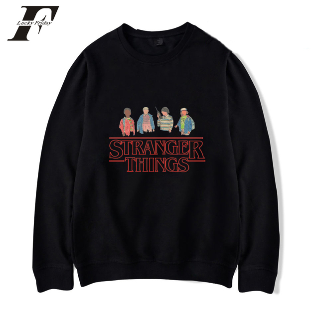 1499971cc15d3 2018 stranger things Sweatshirt Men Women Winter Capless moletom Hoodies  Fashion trend Sweatshirt XXS-4XL funny Super tracksuit
