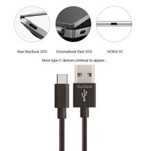 Go2linK USB Type C Cable USB 3 0 Type-C PowerLine USB-C Charging Cable Type C 3 0 for Samsung Xiaomi huawei cheap Blackberry APPLE Nokia SONY Motorola Universal 5V 2A Qualcomm Quick Charge 2 0 5V 2 4A Travel For Type C port device Gold Silver Pink Black color is optional