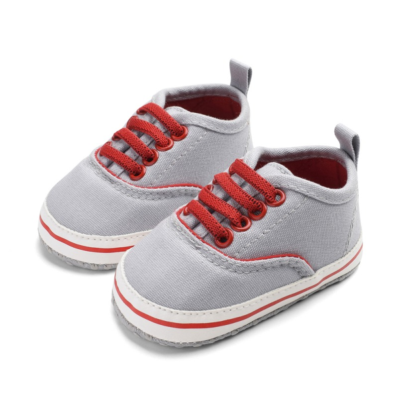 New Baby Shoes Baby The First Walker Shoes Classic Elastic Band Fashion Denim Color Matching Baby Shoes