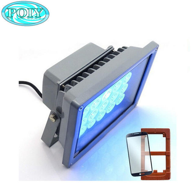 20 LEDS 20W fast curing UV glue light lamp for LOCA glue and LCD refurbish 220v/110v