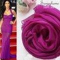 100% Натуральный шелк mosi Одеяло Шарф Женщины Фиолетовый мягкие и удобные леди пашмины ans платки летом пляж призвание wrap