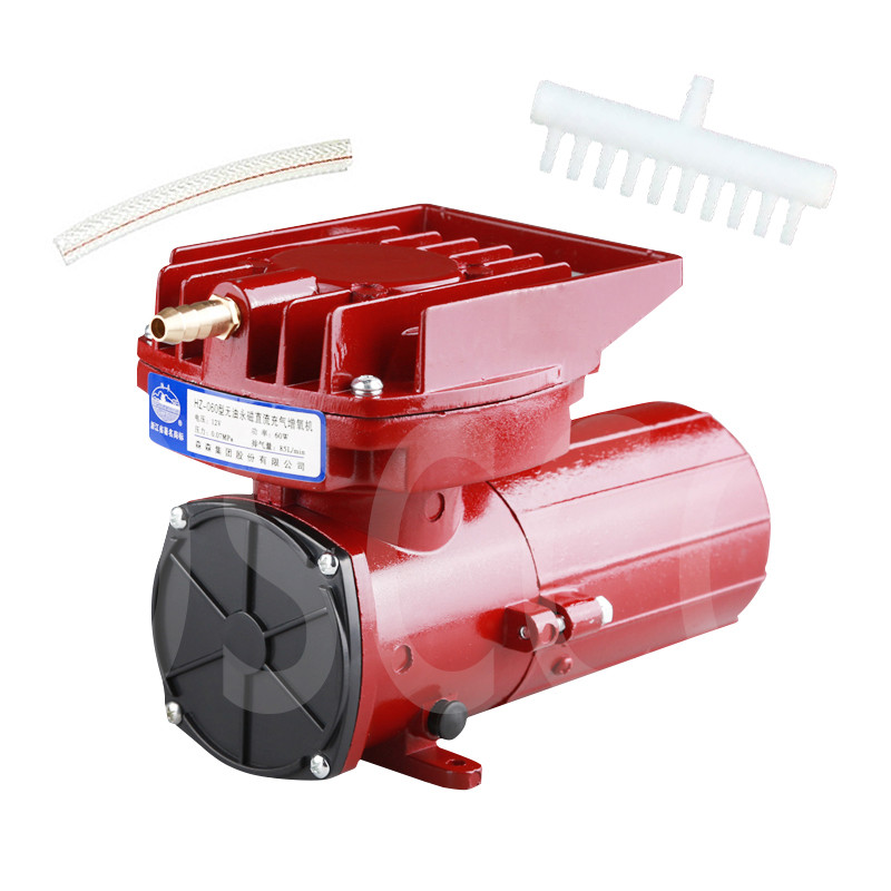SUNSUN HZ060 12V DC Oil free permanent magnet DC aeration pump HZ 060 60W battery DC