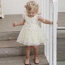 Baby Mädchen Kleid Vestido Infantil Tutu Spitze Baby Kleid Hochzeit Kleider lange Ärmel Mädchen Taufe 1 2 3 Jahre Kinder Sommer