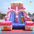 Pink Large Double Inflatable Slide for Amusement Park
