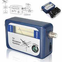 LEORY DVB-T TV antenne chercheur numérique antenne terrestre Signal force compteur pointeur TV Satellite récepteur