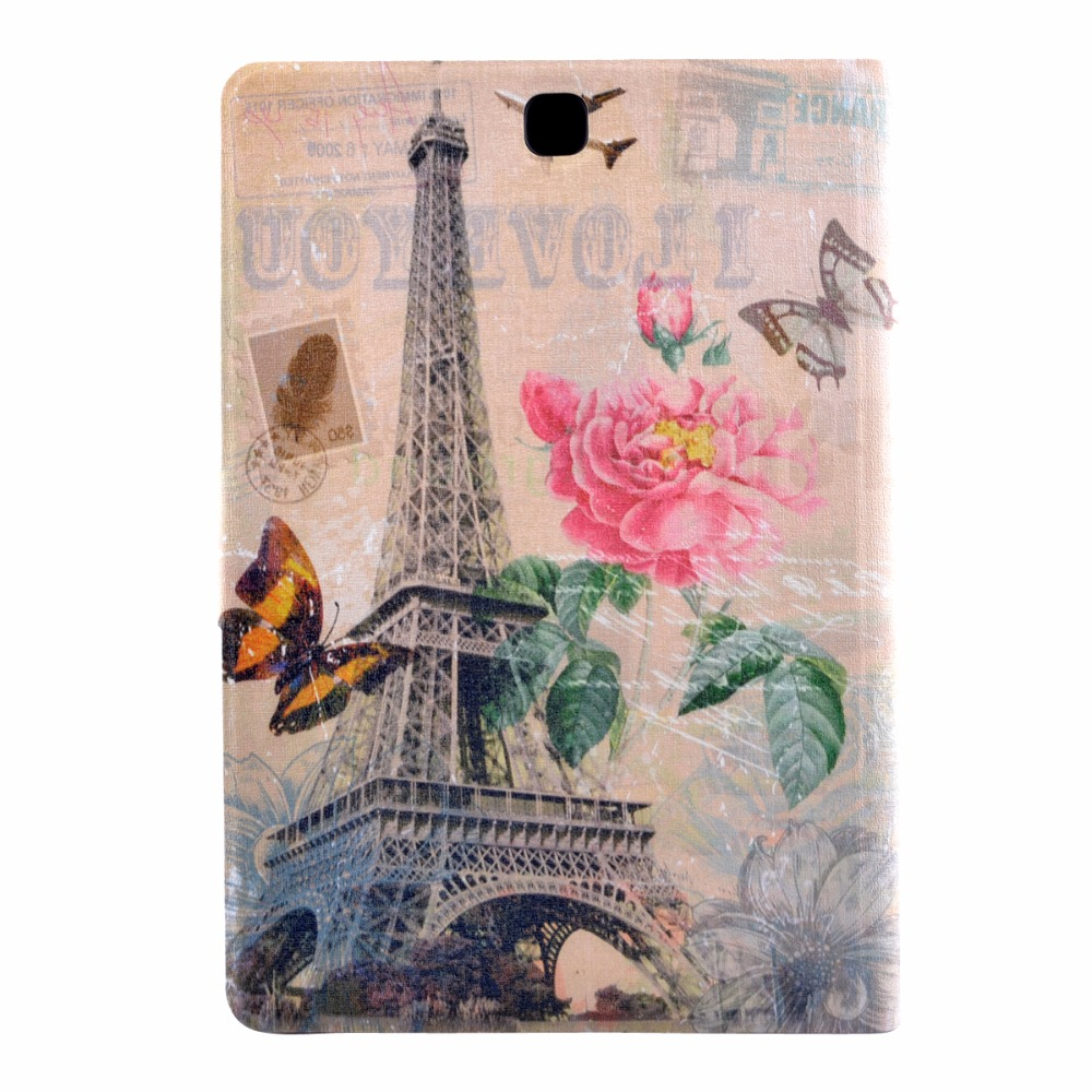 Hot Pada SM-T550 SM-T555 9.7\'\' Tablet Cover Case For Samsung Galaxy Tab A 9.7 T550 T555 P550 P555 Print Case