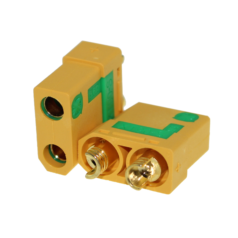 Original Amass XT90S XT90-S XT90 Connector Anti-Spark Male Female Connector With Housing Sheath For Battery ESC And Charger Lead